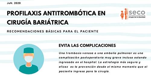 Profilaxis antritrombótica en Cirugía Bariátrica